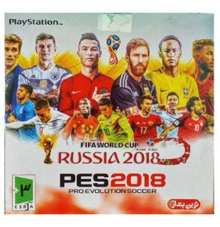 سی دی فوتبال PES 2018 پلی...
