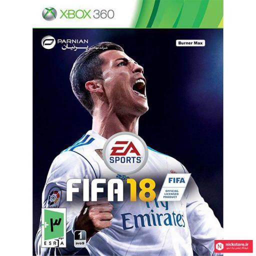بازی فیفا 2018 ایکس باکس 360