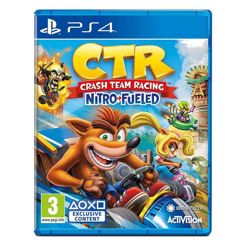 بازی کراش ماشینی برای PS4