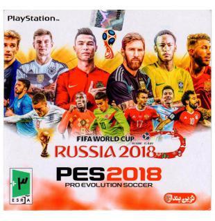 بازی پی ای اس 2018 پلی استیشن1