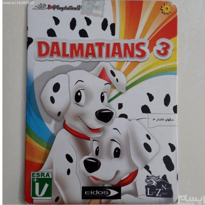 سی دی بازی سگهای خالدار پلی استیشن 2