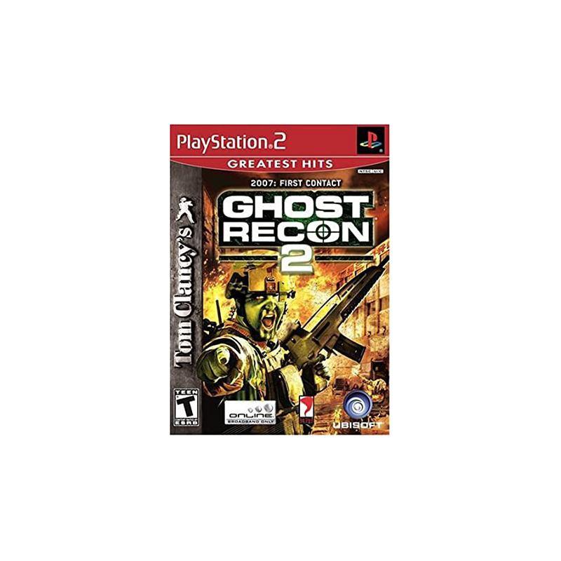 سی دی بازی ghost recon پلی استیشن 2