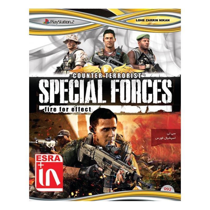 سی دی بازی اسپیشال فورس پلی استیشن 2