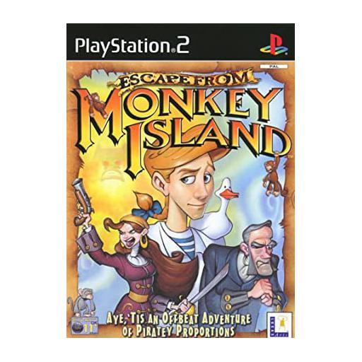 سی دی بازی جزیره میمونها پلی استیشن 2