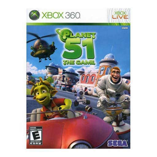 سی دی بازی سیاره 51 ایکس باکس 360