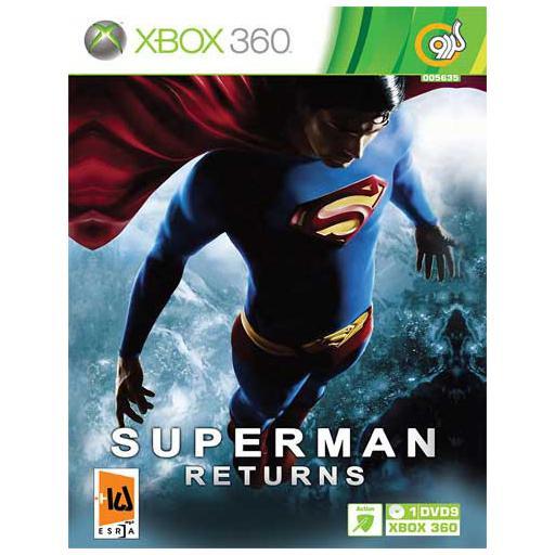 سی دی بازی سوپرمن ایکس باکس 360