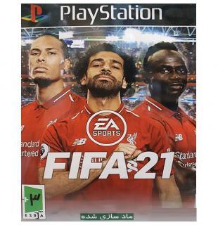 سی دی بازی فیفا 21 پلی استیشن1